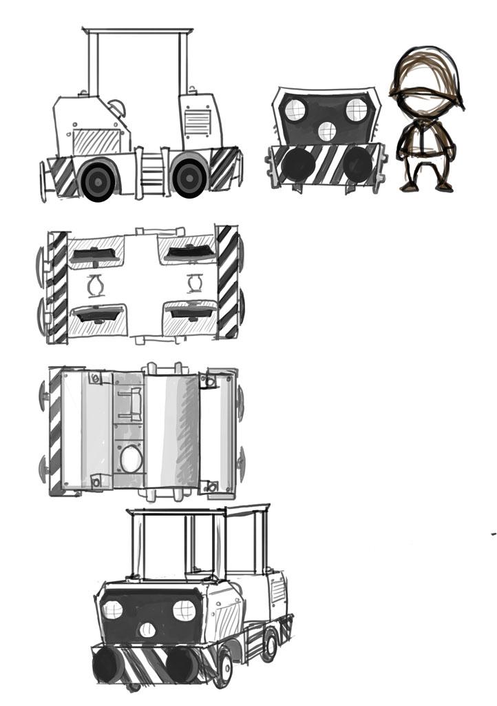 locomotief+dak