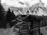 Hill shack